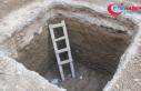 Kazıda kemikler bulundu