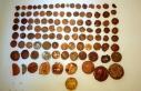Ankara'da Roma ve Bizans dönemine ait 108 sikke...