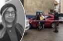 Otomobilinde silahlı saldırıya uğrayan kadın...
