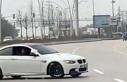 Ankara'da 'drift' yapan sürücüye...