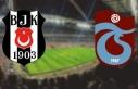 Beşiktaş - Trabzonspor maçının ilk 11'leri...