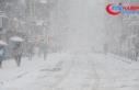 Çorum'da okullara kar tatili
