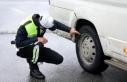 Kış lastiği takmayan 2 bin 551 sürücüye ceza