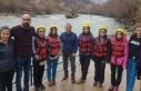 Tunceli'de Dünya Rafting Şampiyonası heyecanı