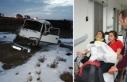 Atletizmci öğrencileri taşıyan minibüs devrildi:...