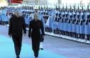 Cumhurbaşkanı Erdoğan Kitaroviç'i resmi törenle...