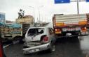Yalova'da zincirleme kazada 'tabelalar şaşırtıyor'...