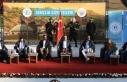 Bakan Çavuşoğlu, Diriliş Ertuğrul dizi ekibiyle...