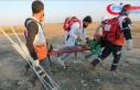 İsrail askerleri Gazze sınırında 7 Filistinliyi...