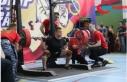 Rus halterci 250 kiloluk halteri kaldıramayınca...