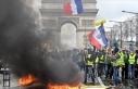 Fransa'da sarı yeleklilerin eylemleri 7. ayını...