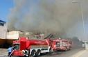 Gaziantep'te mobilya imalathanesinde yangın