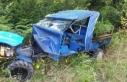 Pervari'de tarım aracı devrildi: 1 ölü, 2...