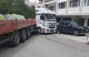 Ankara'da şoförün üstünden geçen tır 5...