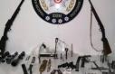 Trabzon'da silah kaçakçılarına eş zamanlı...