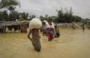 Myanmar'da sel nedeniyle 200 bin kişi yerinden...