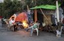 Yunanistan'da kamp dışındaki düzensiz göçmenlerin...