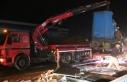 Düzce'de yolcu otobüsü ile kargo tırı çarpıştı:...