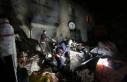 Ankara'da yangında mahsur kalan 4 kişiyi bekçiler...