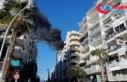 Antalya'da iş merkezinde korkutan yangın