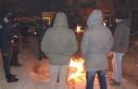Depremin yaşandığı Elazığ'da vatandaşlar...