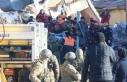 Elazığ'daki deprem sonrası arama kurtarma...