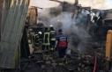 Konya'nın Beyşehir ilçesinde ev yangını:...