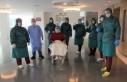 Doktorların umudunu kestiği korona hastası alkışlarla...