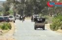 Libya ordusu Hafter milislerinin geride bıraktığı...