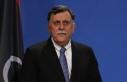 Libya Başbakanı Serrac Genelkurmay Başkanı ve...