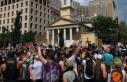 Washington'da binlerce kişilik Floyd protestosu