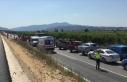 İzmir'de yangına giden arazöz devrildi: 2...