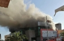 Libya'da alışveriş merkezinde yangın