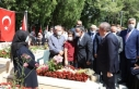 TBMM Başkanı Şentop, 15 Temmuz Demokrasi Şehitliği'ni...