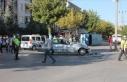 Aksaray'da işçileri taşıyan minibüs ile...