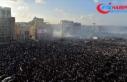 Beyrut'taki gösterilerin bilançosu: 1 ölü,...