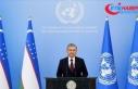 Özbekistan Cumhurbaşkanı Mirziyoyev BM Genel Kurulu'na...