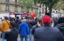 Paris'te terör örgütü PKK yandaşları ve Ermeniler...