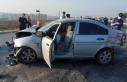 Silivri'de işçileri taşıyan servis kaza yaptı:...