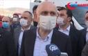 Bakan Karaismailoğlu, Yılmaz Erbek Apartmanı enkazında...