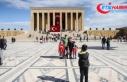 Binlerce vatandaş Cumhuriyet Bayramı coşkusunu...