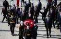 Cumhuriyet Bayramı törenleri Anıtkabir'de başladı