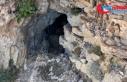 İmha edilen mağarada 1,5 tondan fazla yaşam malzemesi...