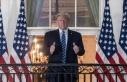 Trump'ın miting alanı üzerinde uçan özel...