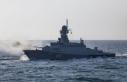 Rusya, Hazar Denizi'ndeki tatbikatın görüntülerini...