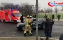Almanya'da Başbakanlık binasına araçla saldırı...