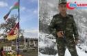 Azerbaycanlı şehidin mezarına Galatasaray bayrağı...