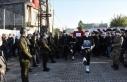 Zeytin Dalı bölgesinde şehit olan asker son yolculuğuna...