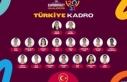 A Milli Kadın Basketbol Takımı'nın aday kadrosu...