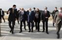 Bakan Elvan, Çukurova Bölgesel Havalimanında incelemelerde...
